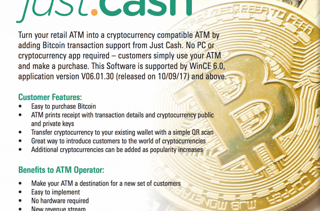 One of the World's Largest ATM Manufacturers Announces Bitcoin Support