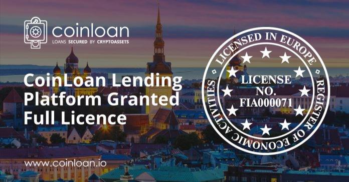 PR: CoinLoan Lending Platform Granted Full License