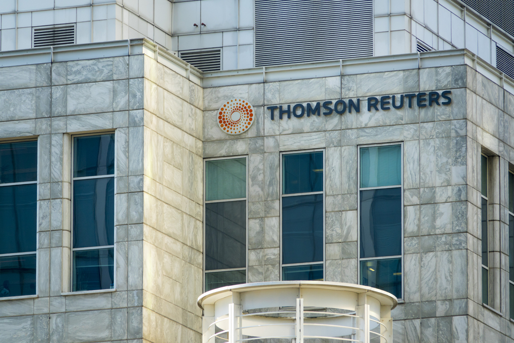 Thomson Reuters Launches Real Time Rates for Six Cryptocurrencies
