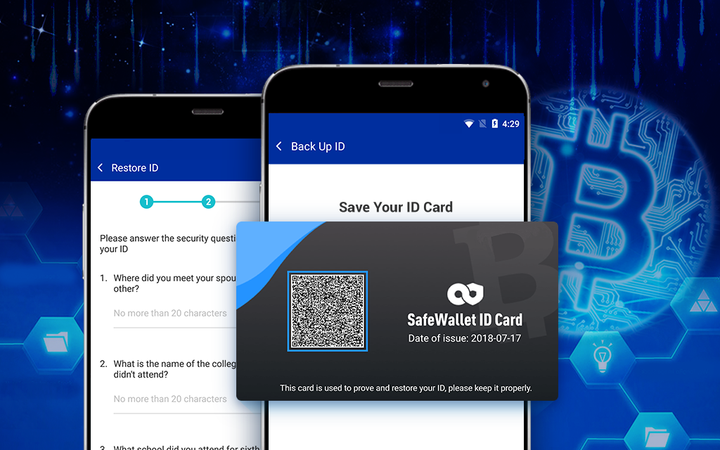 Crypto Wallet to Alter Personal Keys Using Encrypted QR Codes