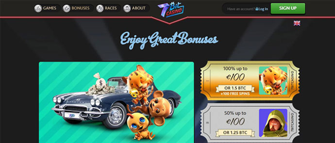 7 bit casino home bonus