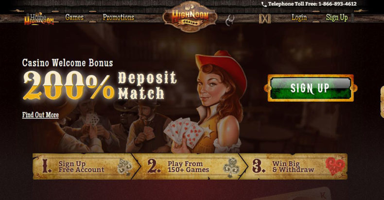 High Noon Casino Screenshot