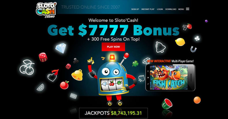 Slotocash Casino Screenshot